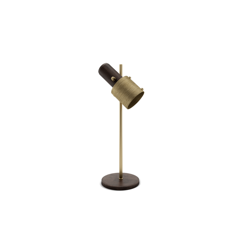 Herschel Table Lamp by Wood Tailors Club