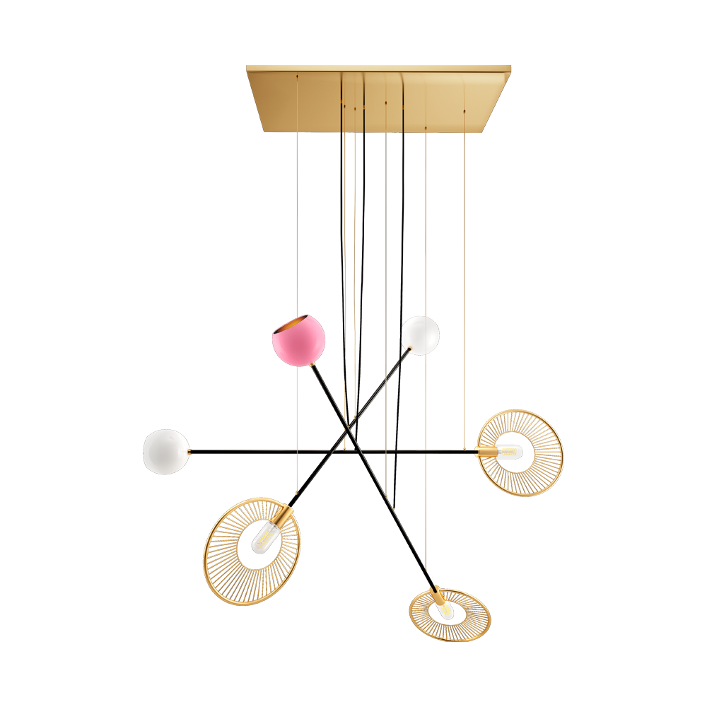 Melrose suspension lamp by Creativemary