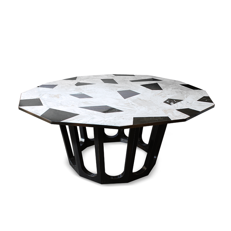 Northup Dining Table by Porus Studio