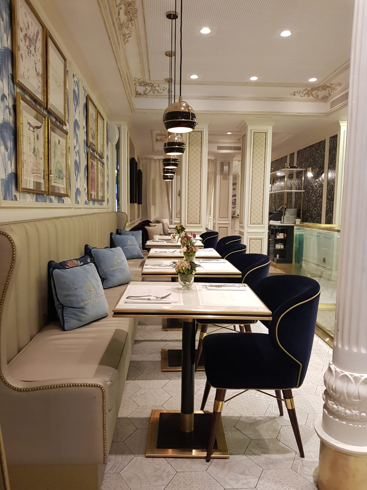 Brasserie Antoinette Project by Ottiu in Madrid Spain | Emotional Brands