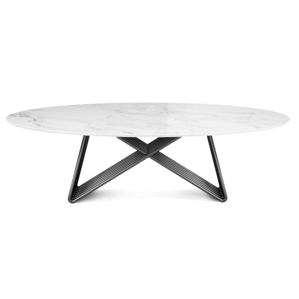 Broad Dining Table by Porus Studio