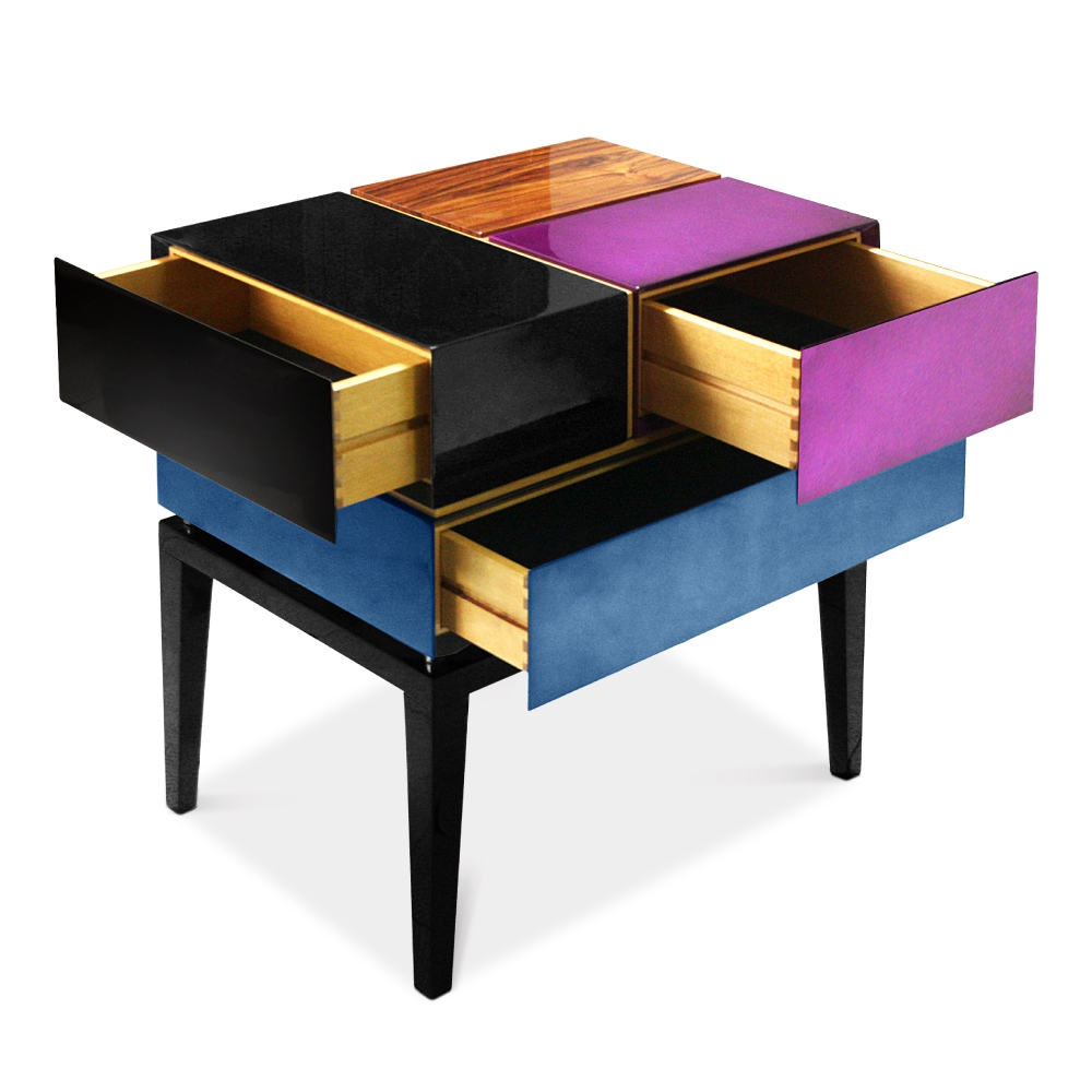 Proportion II Nightstand by Malabar